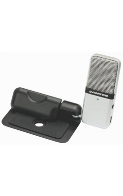 GO MIC - Clip-on USB microphone (Titanium)