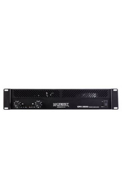 CPX 2600 DUAL CH LOW - CPX Series Amplifiers