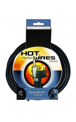 SP14-25-BA - 14AWG Speaker Cable (25', Banana-QTR)