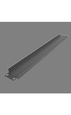 "PPR1 - 19"" 1 RU Recessed Vent Rack Panel"
