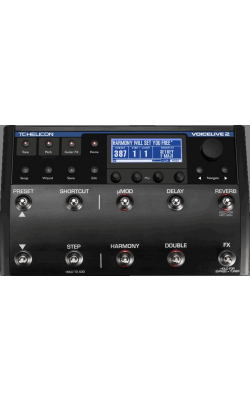 VOICELIVE 2 - Vocal Harmony and Effects Pedal
