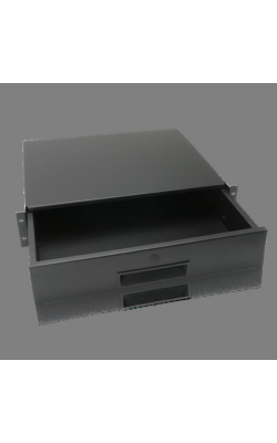 "SD2-14 - Storage Drawer - Recessed 2RU w/ 14"" Extension"
