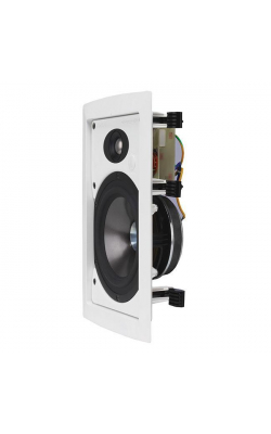 "IW 6TDC -WH - 6.5"" Dual Concentric™ / SuperTweeter™ In-Wall Speaker"