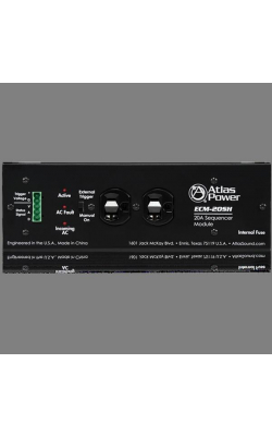ECM-20SH - Single Housing Power Conditioner / Spike Suppressor (20A)