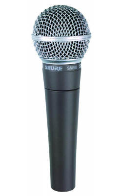 SM58S - Legendary Vocal Microphone with On/Off Switch
