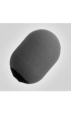 A81WS - Gray Large Foam Windscreen for SM81 and SM57
