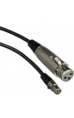 WA310 - 4' Microphone Adapter Cable, 4-Pin Mini Connector