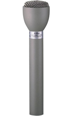 635A/B - Classic Handheld Interview Microphone (Black)
