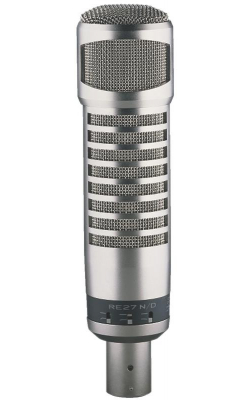 RE27N/D - Broadcast Announcer's Microphone w/ Variable-D & N/DYM Cap