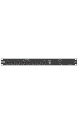AM2 - 8-Channel Gain-Sharing Automatic Mic Mixer