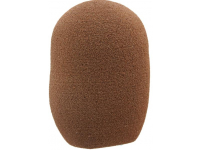 RK229WS - Brown Foam Windscreen for AMS26, SM63