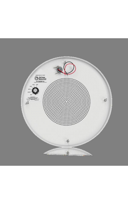 "M1000R-W - 8"" Sound Masking Speaker w/ 4W Transformer and Round Enclosure (White)"