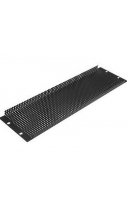 "PPR4 - 19"" 4 RU Recessed Vent Rack Panel"