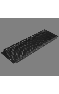 "PPR3 - 19"" 3 RU Recessed Vent Rack Panel"