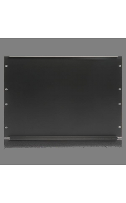 "SPR8 - 19"" Blank 8 RU Recessed Rack Panel"