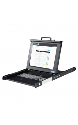 "MMK17-RM - 17"" LCD Single Rail Console"