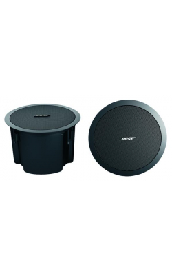 "FREESPACE DS 100F BL - FreeSpace DS Series 5.25"" Flush-Mount Speaker (Black)"