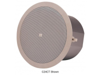 C24CT-BK - Background/Foreground Ceiling Speaker (Black)