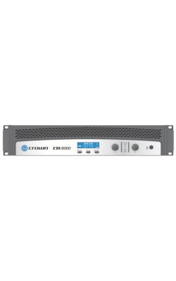 CDI6000 - CDi Series Professional 6kW DSP Install Amplifier