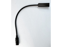 "12X-HI - 12"" High Intensity Gooseneck Lamp with Straight 3-Pin XLR Connector"