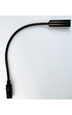 "6X-HI - 6"" High Intensity Gooseneck Lamp with Straight 3-Pin XLR Connector"