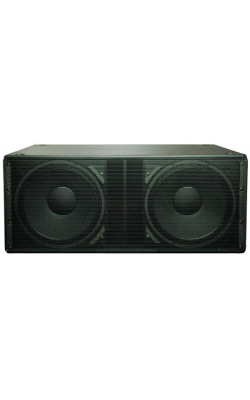 "GP218-SW-WH - WideLine Series Dual 18"" Ground-Support Subwoofer (White)"
