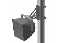 PMB-2RR - Pole Mount Bracket, Single or Dual Loudspeakers, Vertical Downtilt and Left-to- Right panning
