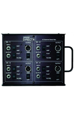 DIRECT4 - 4-Channel Passive Direct Box