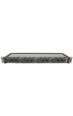 MS42A - 4 Channel (2 Way) Rack Mount Mic Splitter