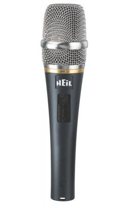 PR20-SUT - PR Series Dynamic Handheld Mic with Switch (Utility Packaging Option)