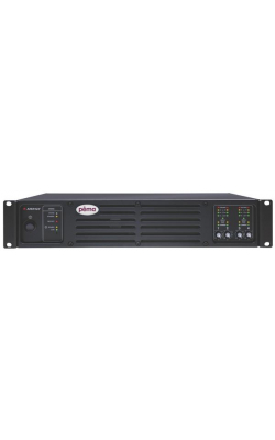 PEMA 4125.70 - Pema 4-Channel 125W Powered Processor for 70V Systems