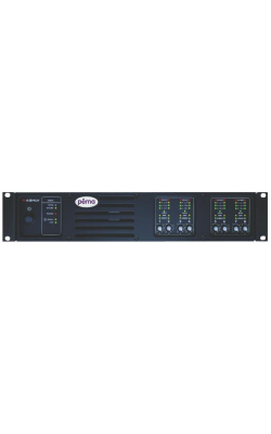 PEMA 8125.70 - Pema 8-Channel 125W Powered Processor for 70V Systems