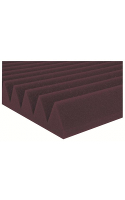 "2SF24BUR - 2"" Studiofoam Wedges (12-pack, 2'x4'x2"", Burgundy)"