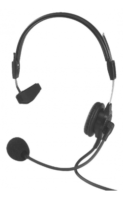 PH88E-R - Single-Sided Lightweight Headset (12' Cord, A4M)