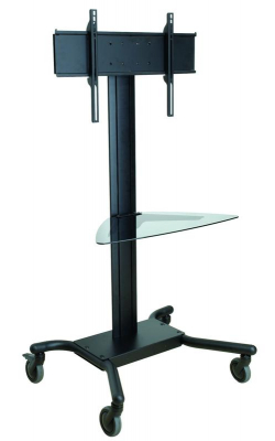 "SR560G - Flat Panel TV Cart (32"" - 65"", 150 lbs, Glass Shelf)"