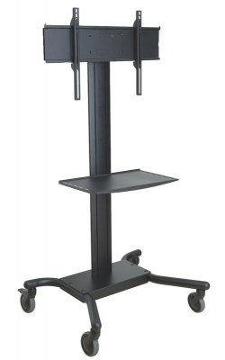 "SR560M - Flat Panel TV Cart (32"" - 65"", 150 lbs, Metal Shelf)"