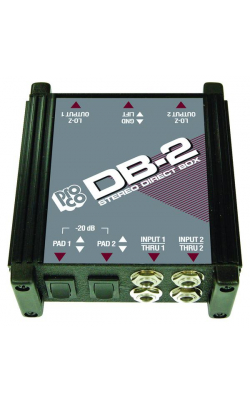 DB-2 - Stereo Direct Box