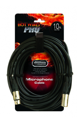 MC-10NN - Professional Mic Cable w/ Neutrik Connectors (10')