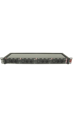 MS43A - 4 Channel (3 Way) Rack Mount Mic Splitter