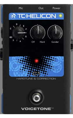 VOICETONEC1 - VoiceTone Series Hardtune and Correction Pedal