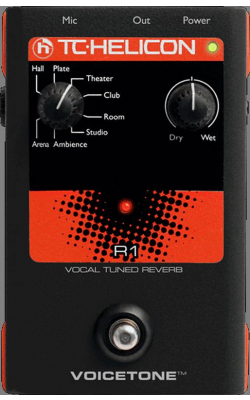 VOICETONE R1 - VoiceTone Series Vocal Tuned Reverb Pedal