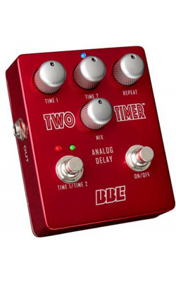 TWO TIMER - Dual Mode Analog Delay Pedal