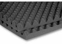 "2SONO48CHA - 2"" SonoMatt Acoustic Foam Panels (2-pack, 2'x8'x2"", Charcoal)"