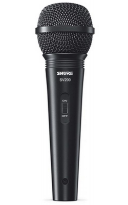 SV200-W - Cardioid Dynamic, On-Off Switch, XLR-XLR Cable, De