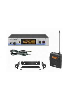EW 572 G3-G - SK500 G3 bodypack transmitter, Ci1 instrument cabl