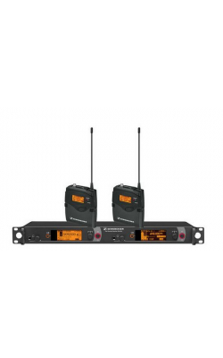 2000BP2-B - Dual Channel Bodypack System: (2) SK 2000XP bodypa