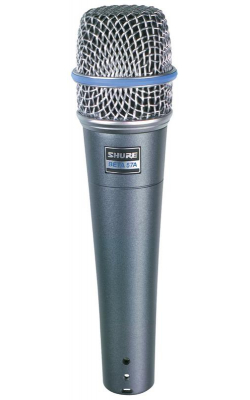 BETA 57A - BETA Series Dynamic Instrument Microphone