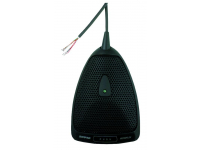 MX392/C - Microflex Series Compact Boundary Microphone with On/Off Switch and Logic In/Out (Cardioid)