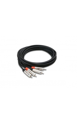 HRR-005X2 - PRO DUAL CABLE RCA - RCA 5FT