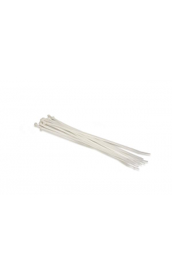 WTI-173 - WIRE TIES PLASTIC WH 10IN 20PC